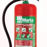 6 Litre Eko-Biolojik AB ve F Yangın Söndürme cihazı